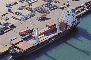 image: John Good UK containerised conventional cargo South America Africa Jamaica