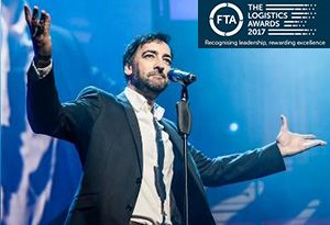 image: UK freight transport logistics awards Alistair McGowan FTA