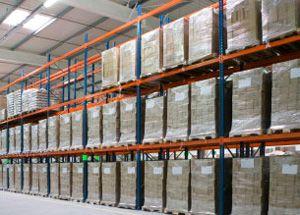 image: UK freight pallet logistics carbon reduction landfill polythene shrink wrap