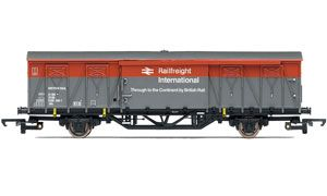 image: UK railfreight transport shipping multi modal  rail freight truck