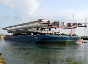 image: Panama Canal road haulage ocean freight forwarding multimodal project vessel tonnes TEU