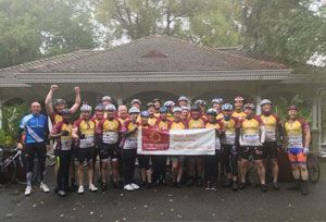image: Transaid logistics transport charity Bike Off