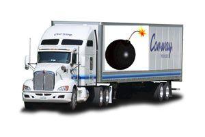 image: US LTL air freight haulier cargo terrorist bomb logistics