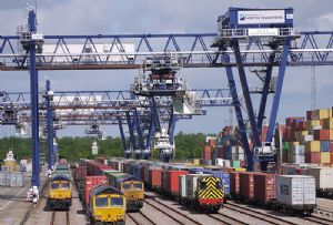 image: UK, rail, freight, First of a Kind, BFT2040, UK2050, cargoes, intermodal, terminals,
