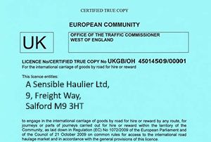 image: UK Traffic Commissioners road haulage operator licence revocation grace period transport manager