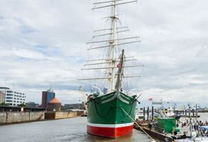 image: Germany Rickmers shipping logistics Hanjn receivership HSH Nordbank VesselsValue
