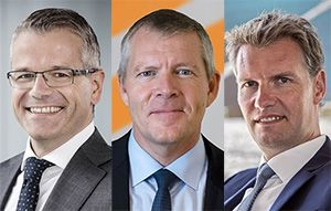 image: Maersk shipping logistics freight movement change senior staff appointments transport