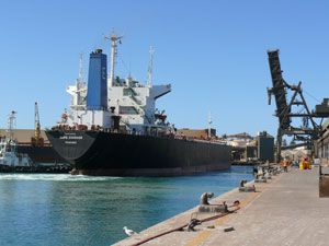 image: Geraldton bulk freight ships cargo Wilhelmsen tonnes