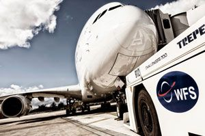 image: Spain worldwide freight services WFS ground handling cargo Aena Madrid Seville Santiago Oviedo Vitoria airport