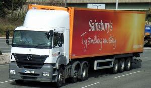 image: Trucks, drivers, Sainsbury, speed limit, green, 50mph, Professional Drivers Association, Handy Shipping Guide, HSG,