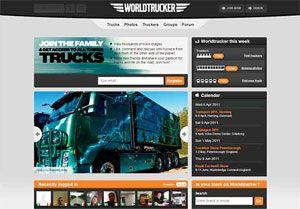 image: Swedish haulage truckers truck driver Volvo Worldtrucker freight hauliers