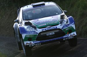 image: New Zealand UK project air freight forwarder world rally car cargo