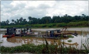 image: Nigeria, Niger River, dredging, Baro, Warri, Umaru Yar'Adua, Kainji dam, freight, transport, haulage