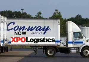 image: XPO logistics road haulage freight Con-way Dentressangle multimodal