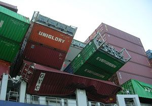 image: UK coastguard BIFA freight container cargo gross weight mass SOLAS IMO