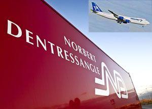 image: European freight forwarding logistics shipping TEU Panalpina Norbert Dentressangle