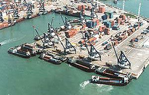 image: Asia freight trade supply chain container shipping transhipment logistics TEU
