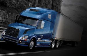 image: Volvo Safety Award truck trucking