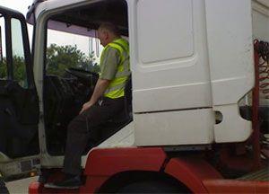 image: UK VOSA freight cabotage haulier haulage