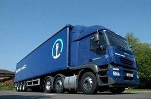image: Kuehne & Nagel road transport shipping supply chain cool