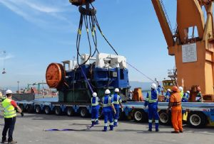 image: Dachser, Mexico, Brazil, heavy lift, freight, forwarding, project, shipment, automotive, tonnes,