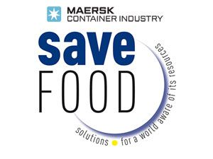 image: Maersk reefer shipping container line UN SAVE FOOD technology environmental