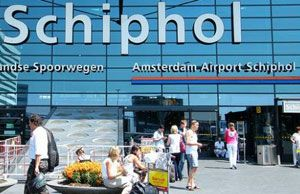image: Schiphol cargo tonnage air freight levels Asia USA