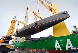 image: South Korea Singapore Break Bulk, Project Heavy Lift Freight and General Cargo Multipurpose Vessel Bimonthly Middle East Asian Services