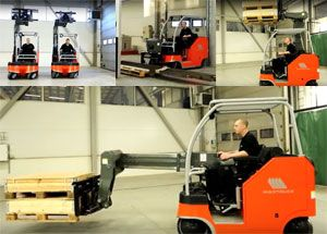 image: US freight Sweden logistics fork lift truck materials handling warehouse supply chain wholesale bespoke