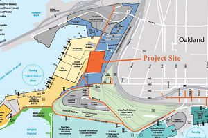 image: US Port of Oakland development logistics centre CenterPoint Revive