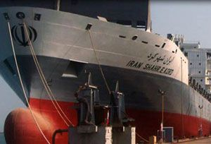 image: Iran freight container shipping line TEU carrier