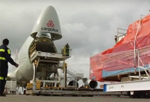 image: Cargolux Luxembourg all freight air cargo carrier LCGB union