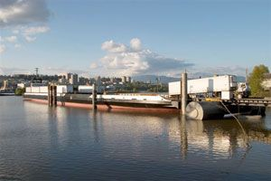 image: Canada RoRo ferry freight trailer unaccompanied barge services