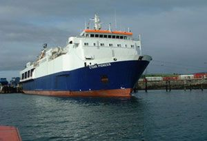 image: UK Ireland freight RoRo ferries