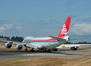 image: Luxembourg Cargolux air freight carrier Qatar HNA