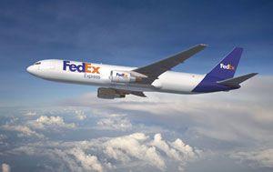 image: Boeing 767 freighter cargo fleet Fedex Express freight