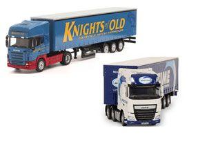image: UK road haulage freight tractors trailers Allport cargo