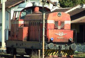 image: Bulgaria BDZ rail freight cargo road trucks