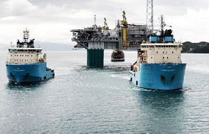 image: Brazil Australia container shipping Maersk energy support