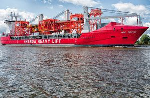 image: Germany Monaco Hansa heavy lift freight project cargo group logistics