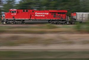 image: Canadian Pacific Norfolk Southern railroad US Canada rail freight Surface Transportation Board