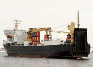 image: Nautilus RMT Ellan Vannin Line freight ferry container shipping general cargo seafarers maritime