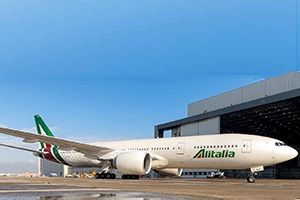 image: Italy Alitalia freight passenger airline bankruptcy Air France KLM Etihad