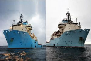 image: Denmark, Maersk, Supply, Service, offshore, vessels, tug, support, Ardent