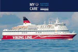 image: Finland, Norway, risk management, standard, DNV GL, Covid-19, pandemic, disease control, Viking Line, ferry, maritime,