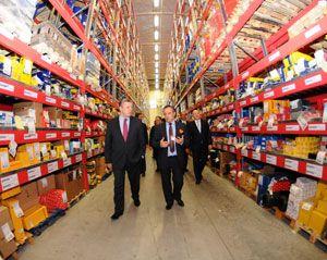 image: Austria freight forwarder logistics terminal cargo hub Gebr�der Weiss