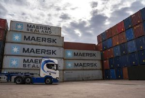 image: UK, Maersk, Maritime Transport, container, rail, haulage, intermodal, contract, box line,