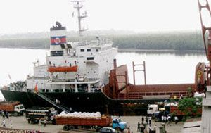 image: Nigeria bulk freight forwarders container shipping port terminal customs broking
