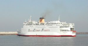 image: Ferry, Marine Accident Investigation Branch, MAIB, accident, Eurovoyager, roll-on roll-off, ro-ro,