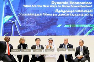 image: Saudi Arabia DP World port and logistics Riyadh conference NEOM Future Investment Initiative
